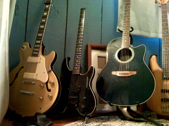 Photo:Guitars By SpaceshipCabaret