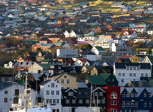 View over Tórshavn - Faroe Islands