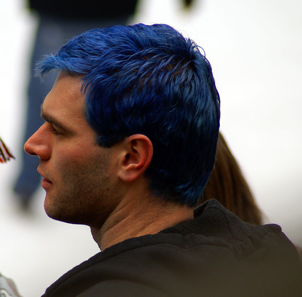 hair color blue black for men wwwpixsharkcom images