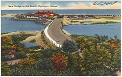 New bridge to the beach, Ogunquit, Maine