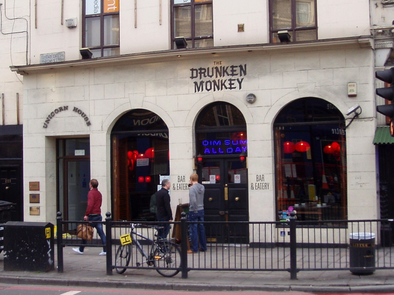Drunken Monkey, Shoreditch, E1