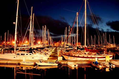 Chula Vista Harbor at Night