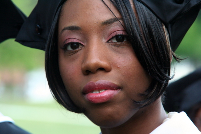 Black Female College Graduate HBCU IMG_5824 from Flickr via Wylio