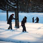 First time skier? Uppsala, January 7, 2017