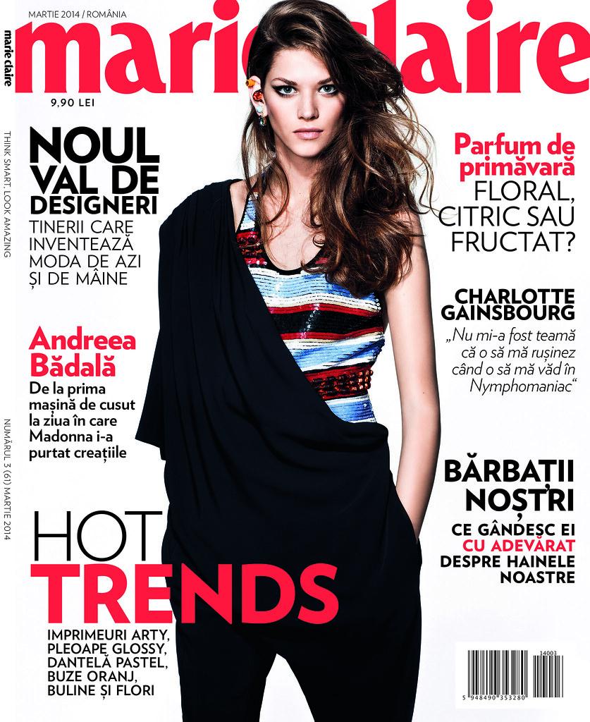 Revista de moda Marie Claire recomandata de Alina Tanasa and Diana Enciu fashion bloggers.