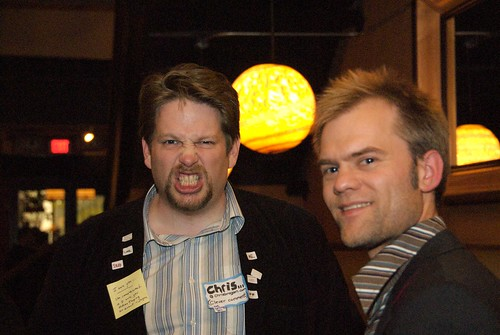 Chris Brogan and Nate Aune