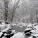 Snowy Little Patuxent River