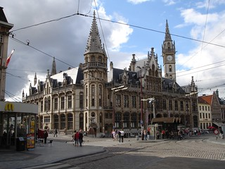 20050807 03 Gent - Voormalig Postkantoor