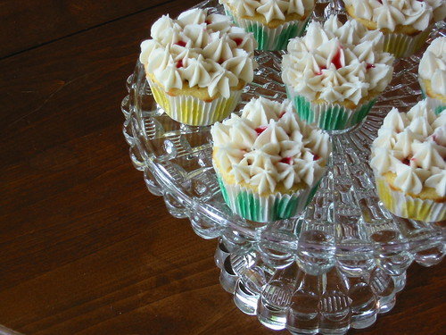 Rhubarb Cornmeal Cupcakes with Cardamom Frosting (large)