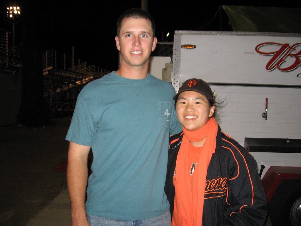 Me and Buster Posey