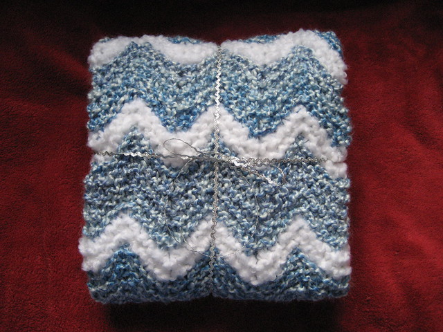 Knitted Ripple Afghan Pattern : Knit Ripple Baby Afghan Flickr - Photo Sharing!