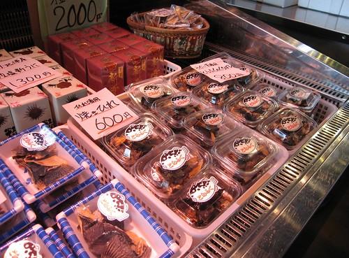 Productos derivados de Fugu