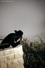 Praying Atop the Mount of Olives - Jerusalem, Israel