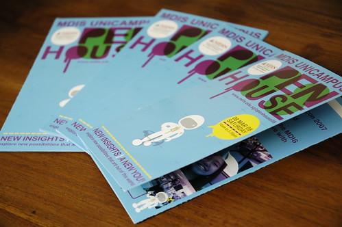 mdis open house 08 // brochures