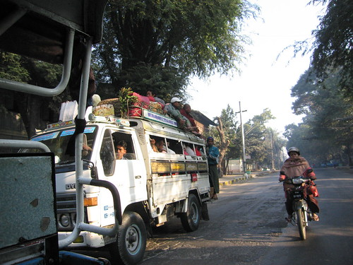 On The Road to Sagaing - Mandalay, Myanmar (Burma)