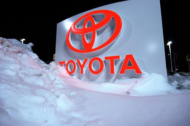 Snowy Toyota