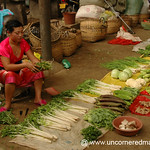 Vegetable Vendor, Gasa Market - Xishuangbanna, China