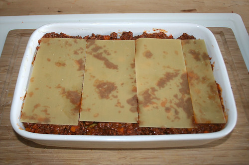75 - Weitere Schicht Lasagneplatten / Add more lasagna sheets