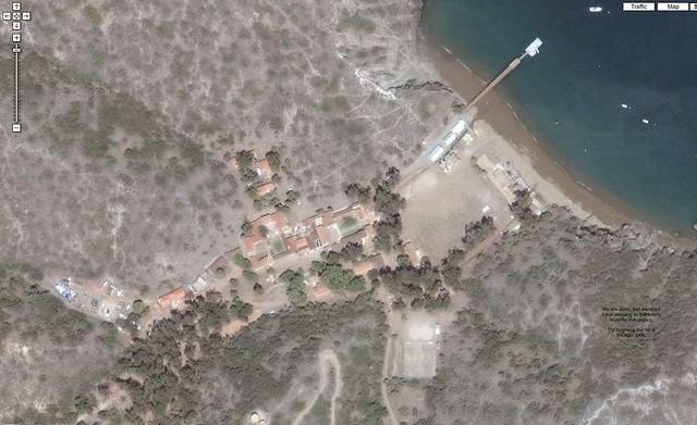 Catalina Island Marine Institute Camp Map