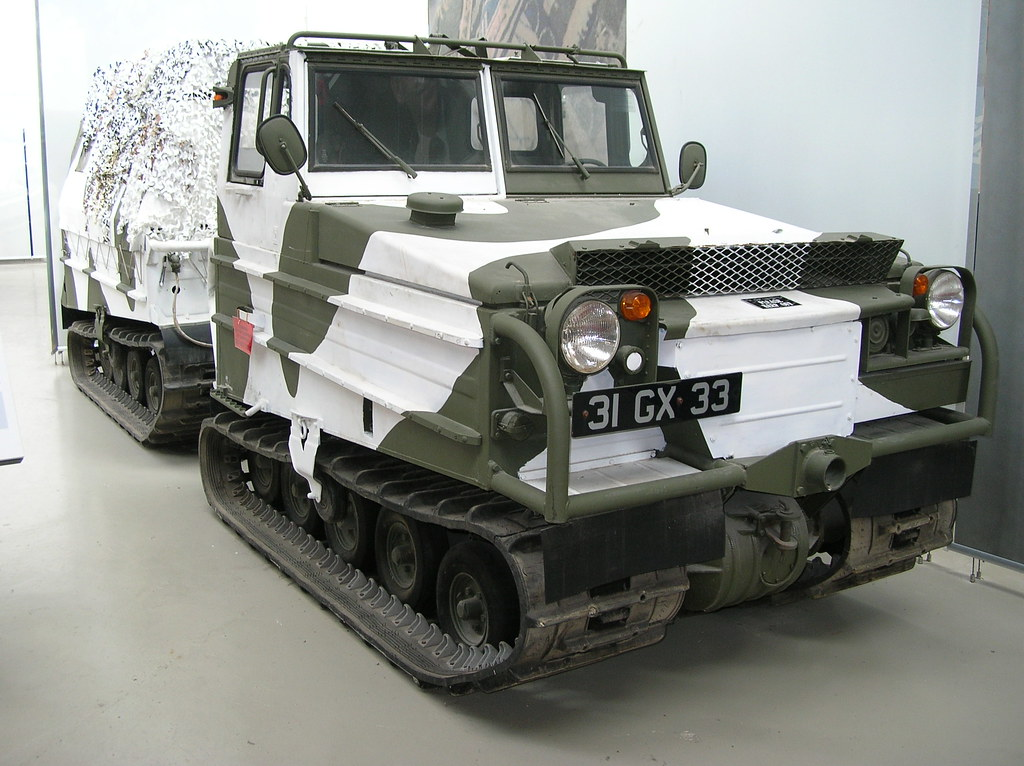 FIREPOWER - The Royal Artillery Museum130 - Sweden - Volvo Bandvagn 202e (BV202) All-Terrain Vehicle - 1962