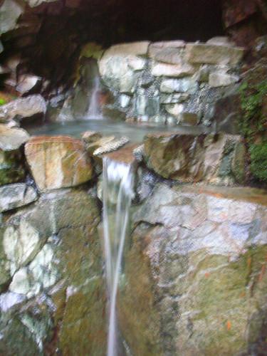 Royal ramblings goldmyer hot springs for Rainwater falls massage
