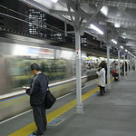JR Kobe Line @ Osaka Station Departing