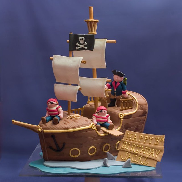 Cake Designs Pirate Ship : photo