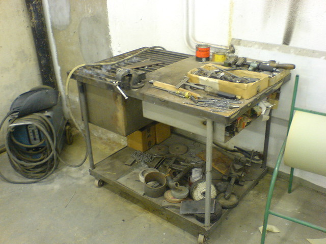 Welding table | Flickr - Photo Sharing! Z Table