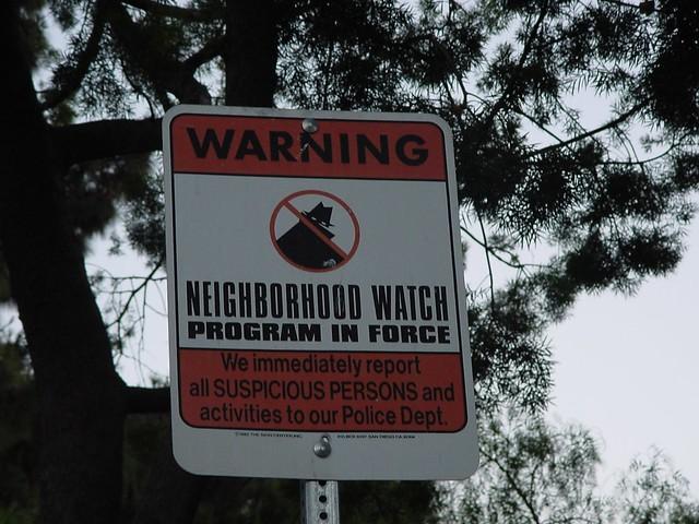 Neighborhood Watch from Flickr via Wylio