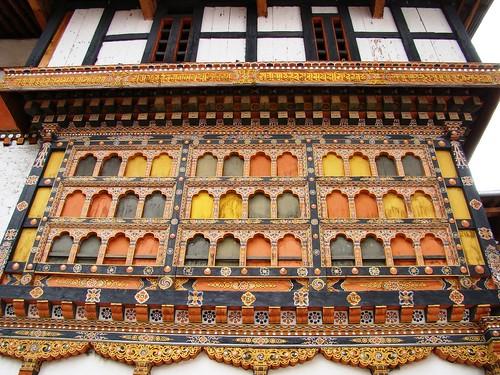 ornate windows