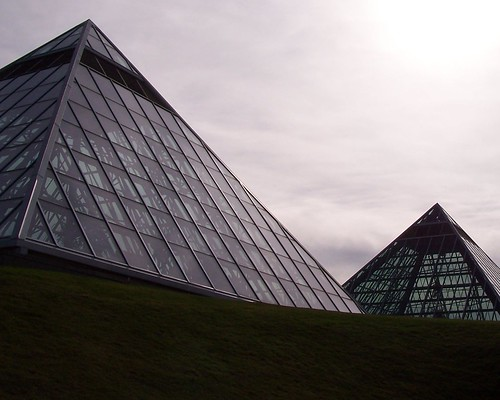 The Great Pyramids of Edmonton