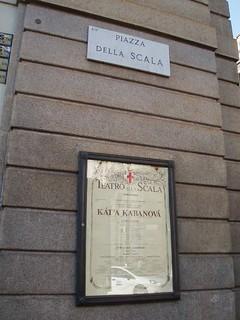 תמונה של Teatro alla Scala ליד Milano. italy milan chorus university tour operahouse warwick lascala universityofwarwickchorustour