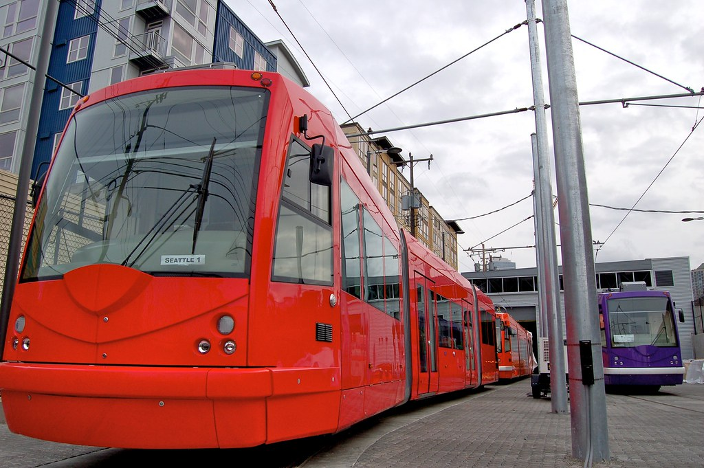 Seattle Streetcar: South Lake Union.  Photo by Bejan/Flickr