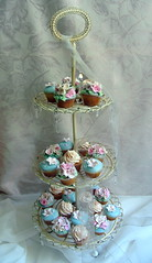 """High Tea"" party cupcakes"