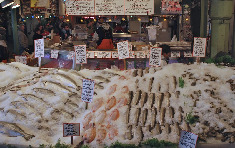 Fish Market Seattle, WA