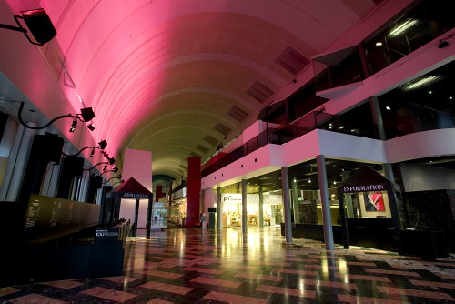Museum Of Sydney Foyer : Grand foyer of the powerhouse museum sydney