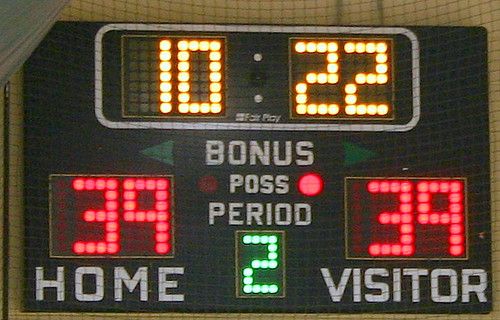 Now it's tie score...   D. Fitzpatrick   Flickr