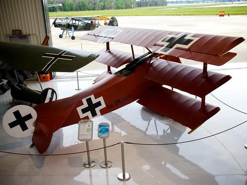 wow germany fighter florida wwi worldwari redbaron 1917 fokker dr1 triplane polkcity manfredvonrichtofen fantasyofflightmuseum