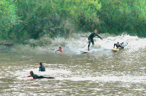 Severn Bore at Minsterworth 9/9/06