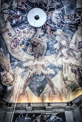 Griffith Observatory ~ Los Angeles California ~ Interior Mural of Dome