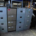 4 Drwr filing cabinets E60-80