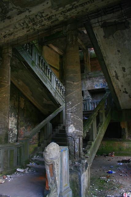 El teatro abandonado
