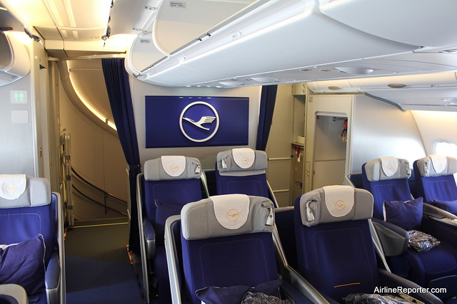 lufthansa airbus a380 business class flickr photo sharing. Black Bedroom Furniture Sets. Home Design Ideas