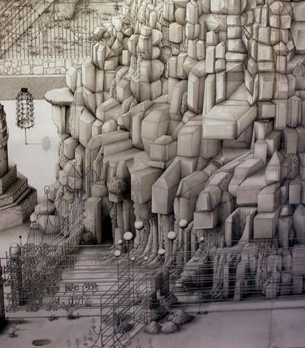 [ N ] Paul Noble - Ye Old Ruin (2003-4) - Detail