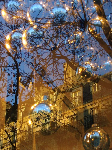 Christmas Reflections in Paris