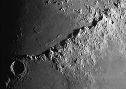 Mond Lunar Mons Huygens Flickr Photo Sharing