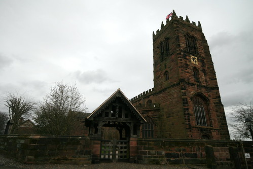 The parish church of St Mary & All Saints