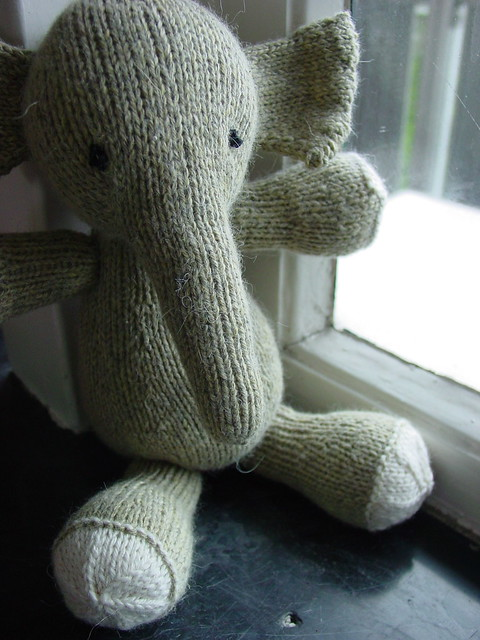 Large Elephant Knitting Pattern : Olli, aka Elijah! For my sweet 3-year-old :-) Such a fun ? Flickr - Photo...