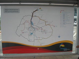 This is the Route Map.  For City to BIAL bus services & timings go to http://www.bmtcinfo.com/site/BSBusServicesRouteDetails.jsp?bsserviceid=1 If out of service, go instead to  http://mpvinay.blogspot.com/2009/09/bmtc-vayu-vajra-volvo-service-to.html