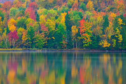 Fall Color Reflected, Adirondacks
